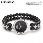 Beauties of Emperor EPOZZ nature gemstone series quartz watch for women luxury 925 <b>silver</b> natural stones <b>bracelet</b> clock H0822S1