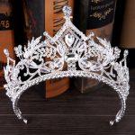 Big Crystal queen crown wedding headbands bridal tiara rhinestone hair accessories bride wedding ornaments hair <b>jewelry</b> diadem