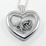 925 Sterling Silver Necklace Infinite Love Petites Heart Locket Necklace For Women <b>Wedding</b> Gift fit Lady Fine <b>Jewelry</b>