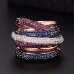 GODKI Famous Brand Luxury Cross Geometry Cubic Zironium Engagement Dubai Naija Bridal Finger Rings <b>Jewelry</b> Addiction