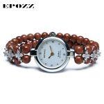 Beauties of Emperor EPOZZ nature gemstone series new quartz watch women nature stone top brand luxury fashion <b>bracelet</b> H1422S1