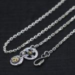 S925 Sterling <b>Silver</b> Wheel Ethnic Takahashi Goro Handmade Eagle Hook Fashion Jewelry Retro Thai <b>silver</b> Men And Women <b>Necklace</b>