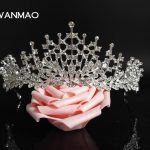 Fashion environmentally friendly alloy rhinestone bridal tiara crown dinner <b>jewelry</b> <b>wedding</b> supplies female HD439