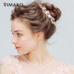 VIMARO Elegant Alloy Pearl Flower Hairpins <b>Wedding</b> Decoration <b>Wedding</b> Hair Accessories Bridal <b>Jewelry</b>