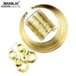 MANILAI Women <b>Fashion</b> <b>Jewelry</b> Set Multilayer Metal Wire Chokers Necklace Bangle Earrings Sets Indian <b>Jewelry</b> Sets Trendy Gift