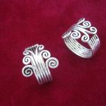 Retro folk style <b>jewelry</b> original Miao Miao <b>handmade</b> silver ring
