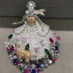 fairy brooch pins dress with deer and rabbit 925 <b>sterling</b> <b>silver</b> with cubic zircon cute romantic fashion women <b>jewelry</b>