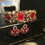 High-end custom <b>handmade</b> gem rhinestone flower wide headband women wedding bridal hair <b>jewelry</b> christmas new year gifts