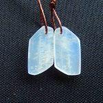 New,Natural Moon Stone Semi-precious stones, <b>Jewelry</b> accessories <b>fashion</b> woman Earring Bead,15x8x4mm,1.9g