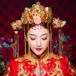 Gorgeous Phoenix Coronet <b>Wedding</b> Headpieces <b>Jewelry</b> Chinese Bridal Queen Styling Tiaras Retro Hair Sticks Hairpins Brides Gifts