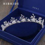 HIBRIDE <b>Jewelry</b> Vintage Tiaras Rhinestone Crystal Crowns <b>Wedding</b> Hair Accessories Rhodium Plated Bridal <b>Jewelry</b> HC00009