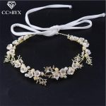 CC <b>Jewelry</b> Women Headband Head Crowns Hairbands Wedding Hair Accessories For Women Bride Tiara Party <b>Handmade</b> Romantic DIY TS338