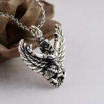 Thai <b>silver</b> pendant Eagle Bird Garuda power God S925 <b>sterling</b> <b>silver</b> <b>jewelry</b> pendant