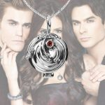 Dropshipping The Vampire Diaries <b>Necklace</b> Elena Vervain 925 Steling Silver <b>Necklace</b> Verbena Locket Pendant Cosplay <b>Jewelry</b> Hot