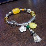 wholesale trendy MEDBOO brand 925 sterling <b>silver</b> natural amber bead <b>bracelet</b> jewelry for women