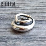 Emith Fla 925 Sterling <b>Silver</b> Spiral Infinite Charm Beads Fit for Original European Brand 3.0mm Bracelet & <b>Necklace</b> Pendants