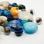 500g Mixed <b>Handmade</b> Lampwork Glass Beads for <b>Jewelry</b> Making DIY Craft, 11~29×11~25×11~15mm, Hole: 0.5~4mm