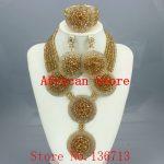 Lovely Purple Single African Women Beads <b>Jewelry</b> Set Nigerian African Beaded Necklace Set <b>Handmade</b> Style Free Shipping BC501-1