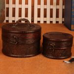 2Pcs <b>Antique</b> <b>Jewelry</b> Storage Gift Box Package Retro Wood Princess Storage Box European Wooden Makeup Organizer Box Organizador