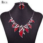 MS1504467 <b>Fashion</b> <b>Jewelry</b> Sets Hight 4Color Quality Necklace Sets For Women <b>Jewelry</b> Silver Plated Stone Unique Spark Design