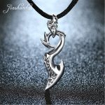 JIASHUNTAI Retro 925 <b>Silver</b> Sterling Pendant Necklace Dragon Wing <b>Silver</b> <b>Jewelry</b> For Cool Men