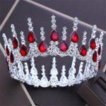 Baroque Queen King tiara crown <b>Wedding</b> accessories Tiaras and Crowns Headdress Diadem Royal Prom headband hair <b>jewelry</b>