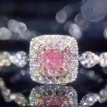 2017 New Arrival Top Sell Luxury <b>Jewelry</b> 925 Sterling Silver Princess Pink 5A CZ Women <b>Wedding</b> Party Finger Pave Ring Size 5-10