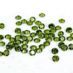 <b>Supplies</b> For <b>Jewelry</b> Olive Color Brilliant Round Pointback Stones Cubic Zirconia Beads Beauty 3D Nail Art DIY Decorations 4-18mm