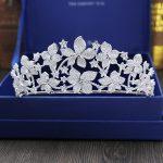Large Full Zircon Tiara Copper Zircon Tiaras Micro Pave CZ Bride Crown <b>Wedding</b> Hair <b>Jewelry</b> Diadem Mariage Bijoux Coroa WIGO1038