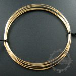 18gauge 1.02mm half hard gold filled high quality color not tarnished beading <b>jewelry</b> wire <b>supplies</b> findings 1505003