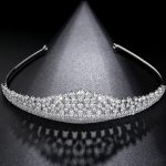 Gorgeous Stunning Top Cubic Zircon Wedding Tiara CZ Bridal Queen Princess Pageant Royal Party Crown Goddess Women <b>Jewelry</b>