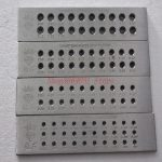 Jewelers <b>Jewelry</b> <b>Making</b> Tools Hardened Steel Wire Draw Plates For Reducing Wire or Wooden Dowels drawplate