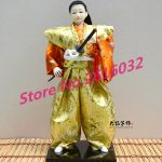 30cm Samurai Japanese humanoid Doll Restaurant <b>supplies</b> gift <b>jewelry</b> ornaments Home Furnishing Restaurant #3616