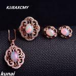 KJJEAXCMY Fine <b>jewelry</b>, Multicolored <b>jewelry</b> 925 <b>silver</b> inlay natural opal female suits simple wholesale