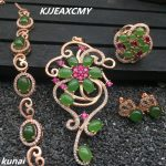 KJJEAXCMY Fine jewelry, Women's jewelry set, colorful jewelry, 925 <b>silver</b> inlaid natural Jasper set