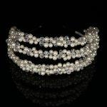 Pearl Hair Accessories Crystal Hairbands Gold Silver Headbands Bride Headdress Fashion Hair Ornaments <b>Wedding</b> Women <b>Jewelry</b>