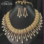 CHRAN Sparkling Austrian Crystal Costume Bridal <b>Jewelry</b> Women <b>Accessories</b> Fashion Gold Color Rhinestone Wedding <b>Jewelry</b> Set