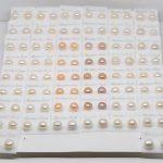 Wholesale 50Set AAA 7-8MM Freshwater Pearl Earring Women Collocation <b>Jewelry</b> <b>Make</b> Design Hot New Fashion
