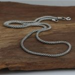Dia 3mm Silver 925 long Rope Chain Necklace For <b>Jewelry</b> <b>Making</b> 100% Real Solid 925 Sterling Silver Material Top Craft, 45cm~80cm