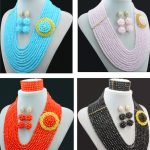 African beads <b>jewelry</b> set Nigerian Wedding <b>jewelry</b> sets seed bead crystal bead braid <b>handmade</b> african bead <b>jewelry</b> set