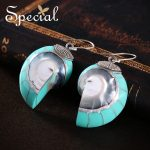Special Brand 925 <b>Sterling</b> <b>Silver</b> Drop Earrings Natural Nautilus Sea Style Earrings New <b>Jewelry</b> Gifts for Women S1649E
