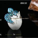 Turtle Trinket Box <b>Handmade</b> Decorated with Crystals Decorative Turtle Figurine Statue Hatching Egg Turtle Keepsake Box