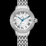 Royal Crown Jewelry Watch 4601S Italy brand Diamond Japan MIYOTA platinum Shaped <b>Bracelet</b> Watch Bangle Ornaments Luxury <b>Silver</b>