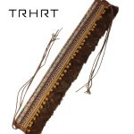 Boho Style Rope Vintage <b>handmade</b> Knitted Designer Belts Gift For dress Or Hat With Wide Waistband belt