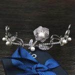 Paved CZ Crown Cubic Zircon Tiara Princess Tiaras <b>Wedding</b> Hair Accessories Bride Hair <b>Jewelry</b> Bijoux Cheveux Coroa Rose WIGO1100