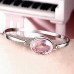 Fashion Rose Quartz <b>Bracelet</b> For Women 925 Pur <b>Silver</b> Charm <b>Bracelet</b> 925 <b>Silver</b> Elegant Natural Gemstone <b>Bracelet</b>&Bangle Jewelry