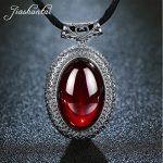 JIASHUNTAI Retro 100% 925 Sterling <b>Silver</b> Pendant For Women Natural Precious Stones Vintage Thai <b>Silver</b> <b>Necklace</b> Pendant Jewelry