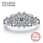 100% Pure Silver Rings For Women Wedding Ring Luxury <b>Jewelry</b> Bijoux Zirconia <b>Accessories</b> Engagement Vintage Bague AR025