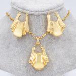 Sunny <b>Jewelry</b> Statement <b>Jewelry</b> 2018 Big Hoop Earrings Pendant <b>Necklace</b> Women <b>Jewelry</b> Sets Copper Figure For Party Wedding Gift