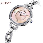 Women Watches Top Brand Luxury Quartz Casual Stainless steel Refined <b>silver</b> <b>bracelet</b> ladies Dress Diamond Metal Wristwatches HOT